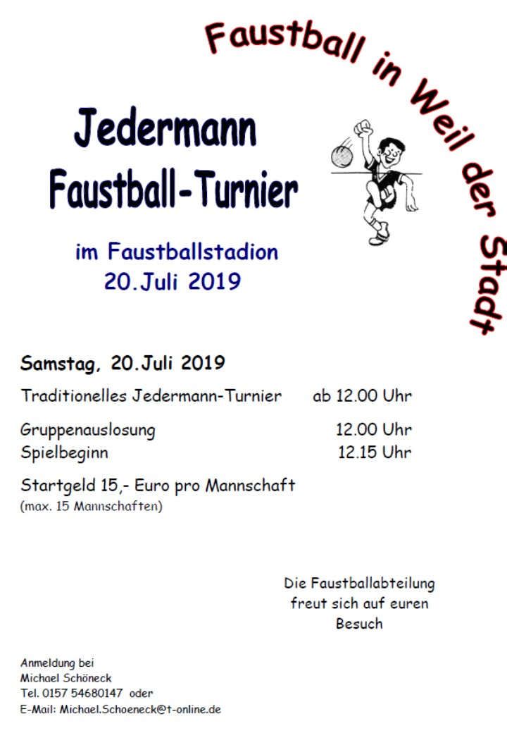 2019 07 20 Jedermann Turnier 01